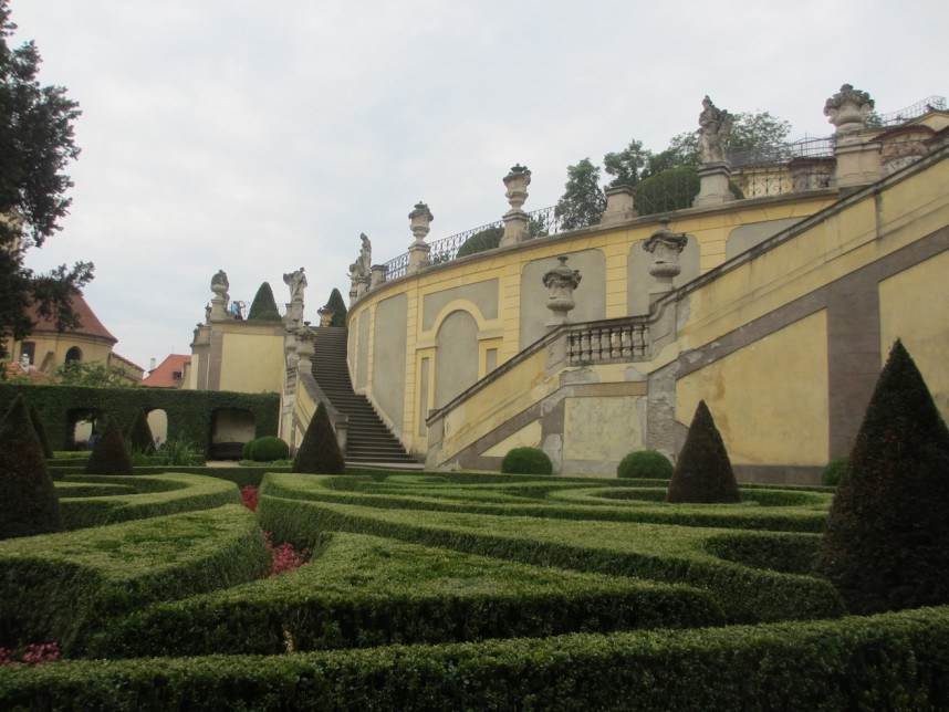 Vrtba Garden on the slope of Petrin Hill