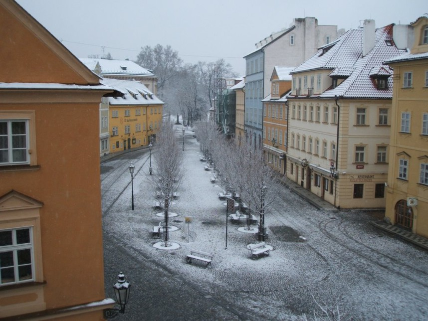 Kampa Island in winter