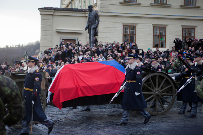 The funeral of Vaclav Havel
