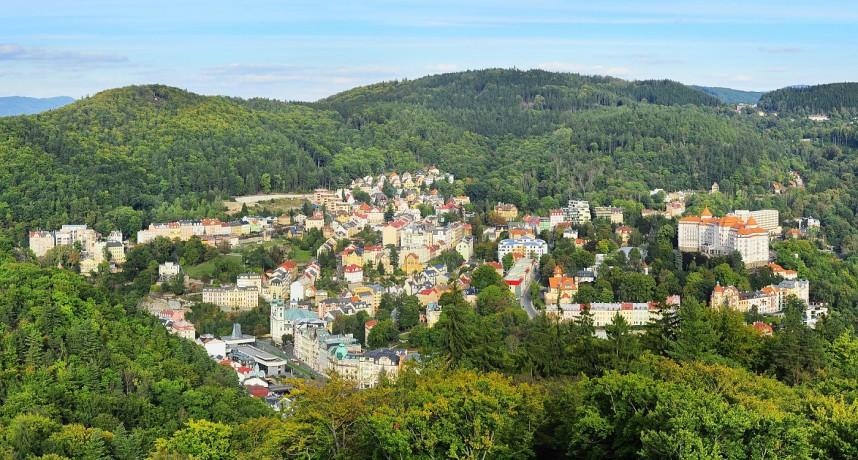 Panorama, Karlovy Vary
