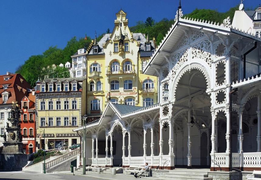 Spa town Karlovy Vary