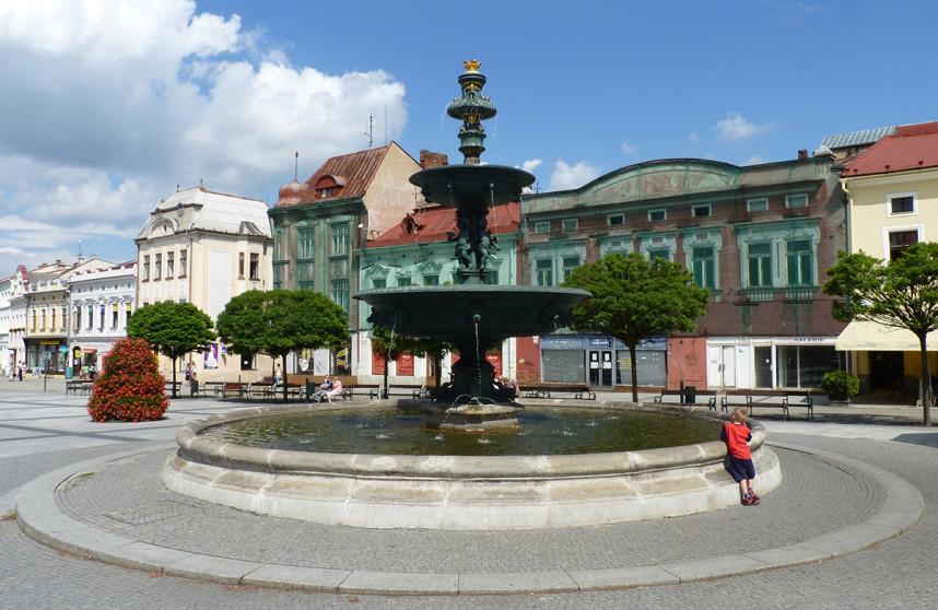 Fountain, Karvina