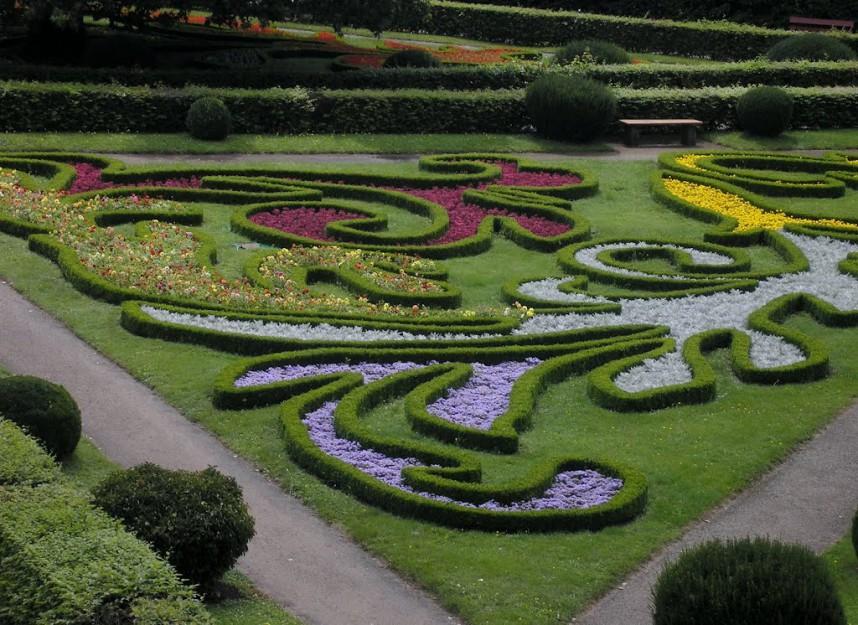 Kromeriz Flower garden