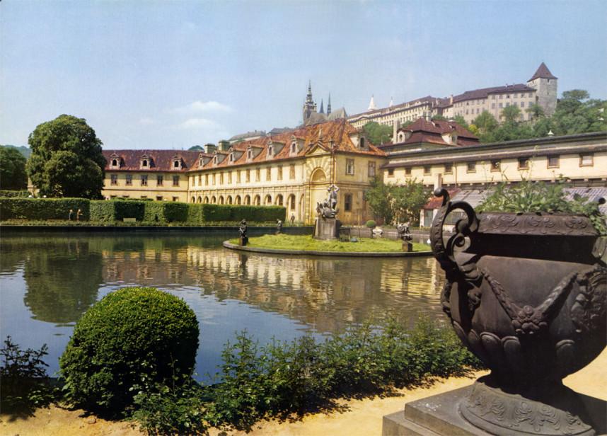 Garden in Wallenstein Palace