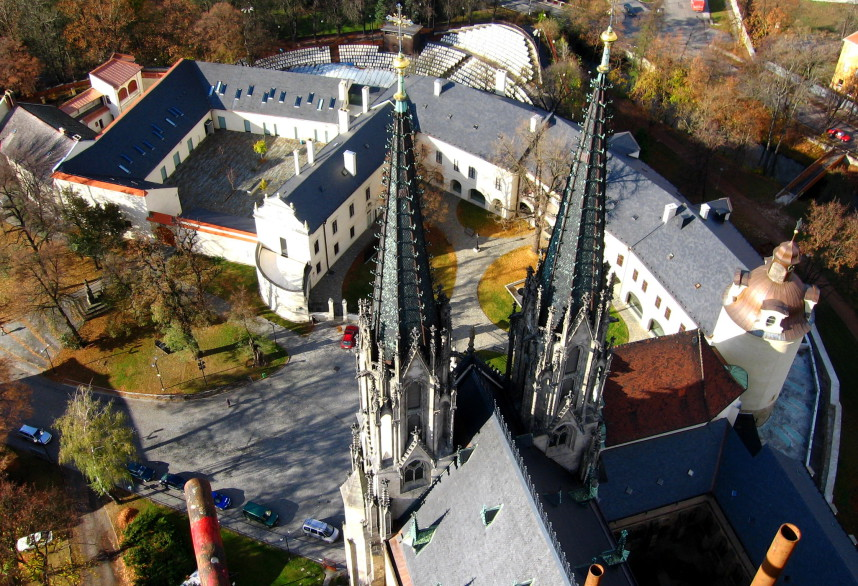 The St. Wenceslas cathedral
