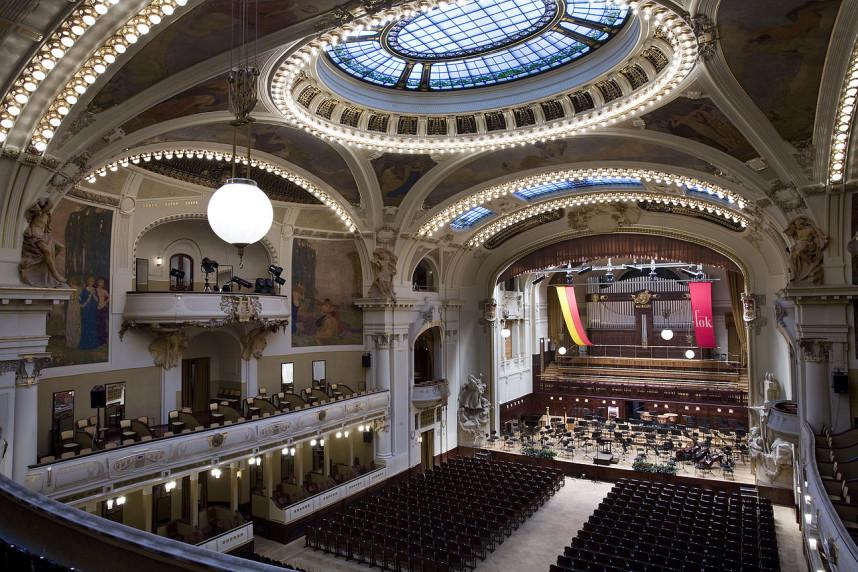 Inside Smetana Hall