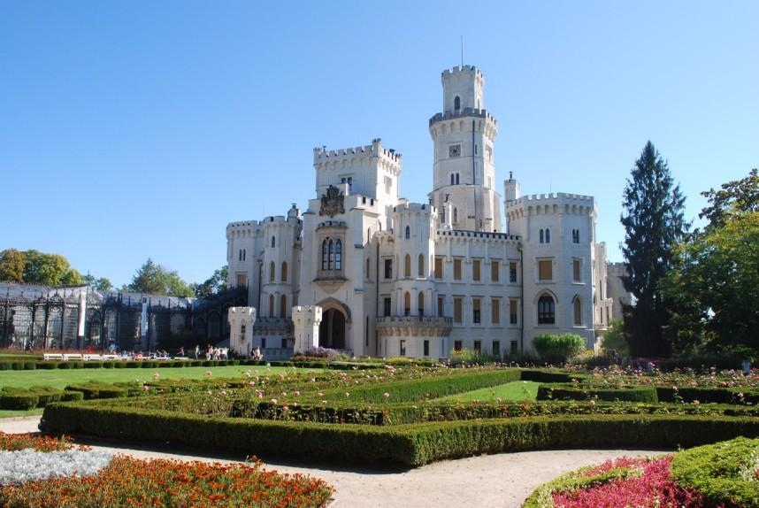 Castle Hluboka nad Vltavou, South Bohemia