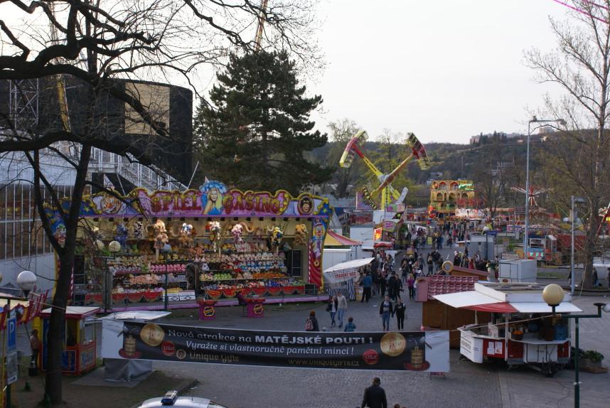 Spring fair in Prague