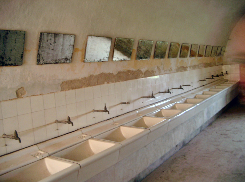 Inside Concentration Camp