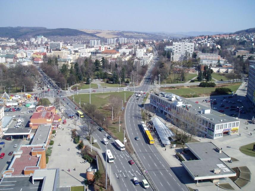 Panorama, Zlin