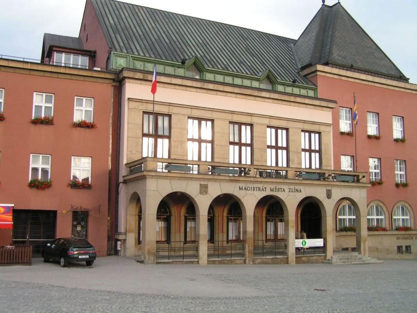 City hall, Zlin