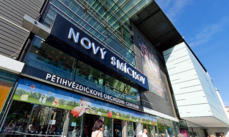 Prague shopping malls