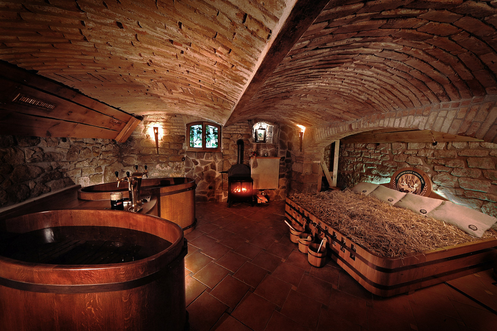 Beer baths in Czech Republic