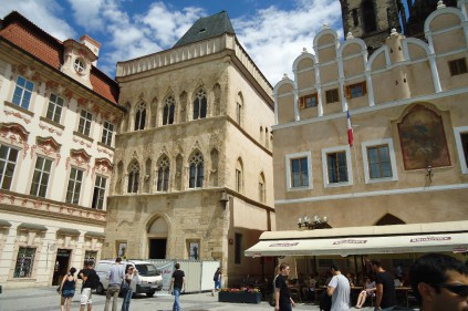 Famous houses in Prague