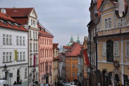 Famous streets in the Czech Republic