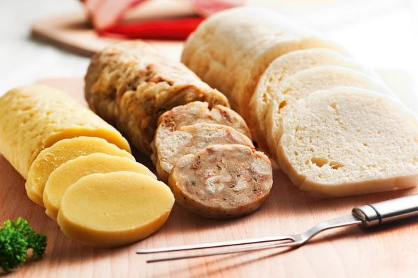 Traditional food in Czech Republic