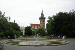 Beautiful squares in the Czech Republic