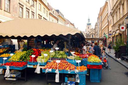 Farmer's markets in the Czech Republic