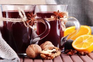 Hot Czech winter alcohol