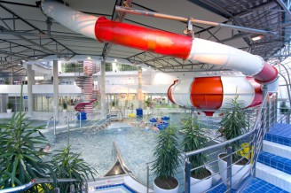 The biggest water parks in the Czech Republic