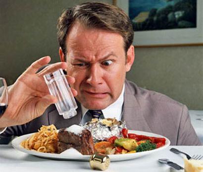 Czechs consume lots of salt